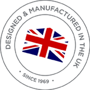 Design and manufactured in the UK